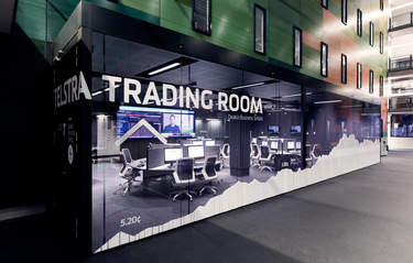 Telstra Trading Room wins gold