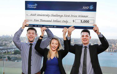 Deakin takes out top spot at the AMP University Challenge (again!)