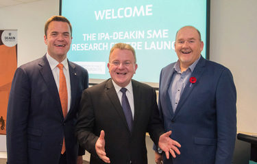 IPA and Deakin University: Leading global voice for SME sector