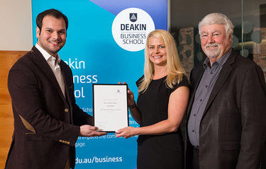 Deakin commerce student wins 2017 Audit Technology Competition