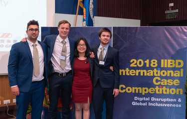 DBS team makes international business competition finals