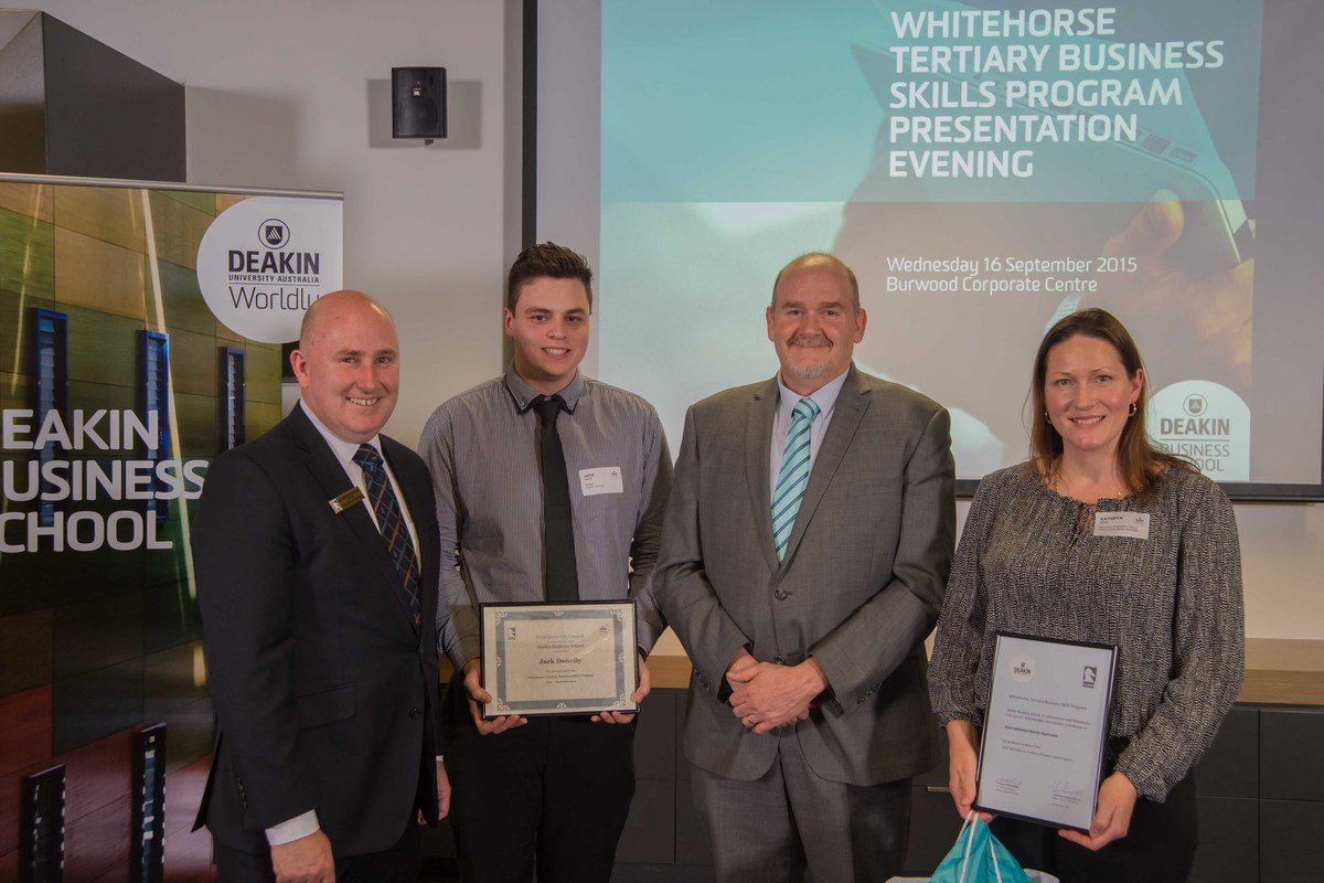Whitehorse Tertiary Business Skills Program 2015