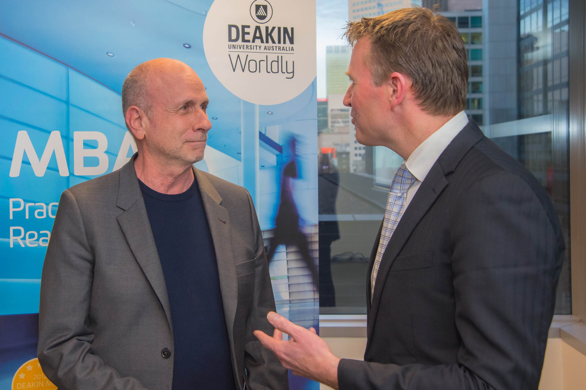 Ken Segall at Deakin