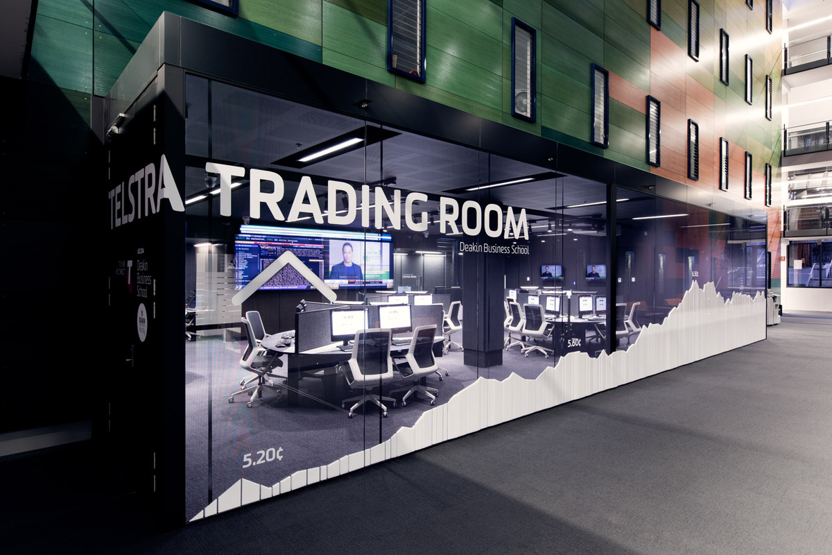 Telstra Trading Room